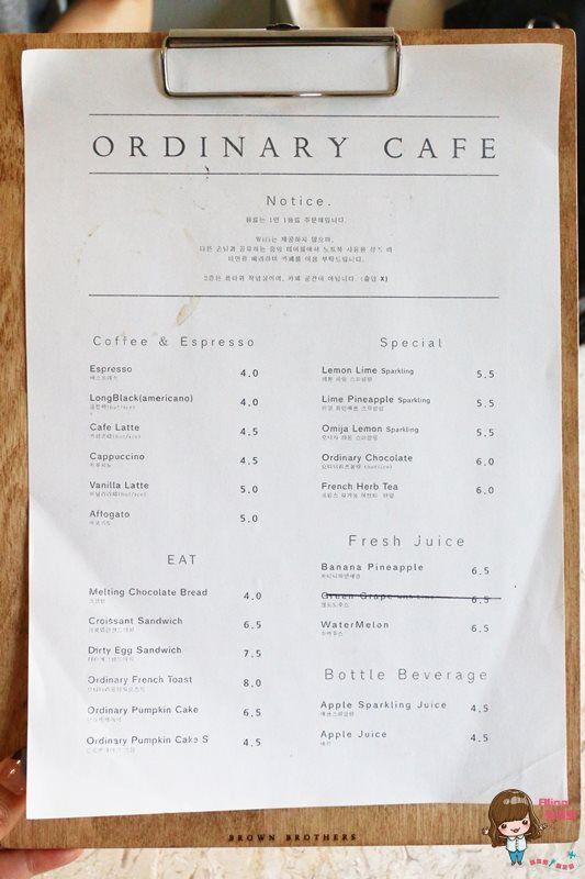 【釜山自由行】花草咖啡館 Ordinary Flower Cafe 好吃的法式吐司 可頌三明治