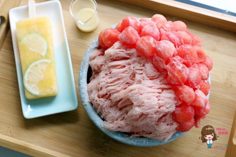 【食記】台南市 双利冰饌研習所 水果雪花冰 西瓜開無雙 清涼消暑好吃 @Alina 愛琳娜 嗑美食瘋旅遊