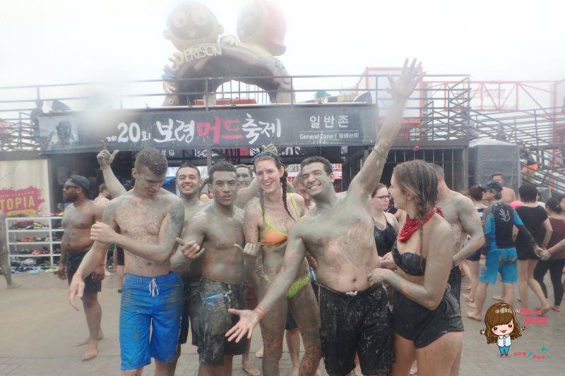 【韓國自由行】保寧美容泥漿節 大川海水浴場 當個越髒越滑嫩的泥巴人 @Alina 愛琳娜 嗑美食瘋旅遊