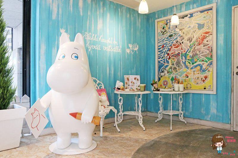 【食記】台北東區 嚕嚕米主題餐廳 Moomin Cafe 超萌超可愛 勾起滿滿回憶的小精靈 @Alina 愛琳娜 嗑美食瘋旅遊