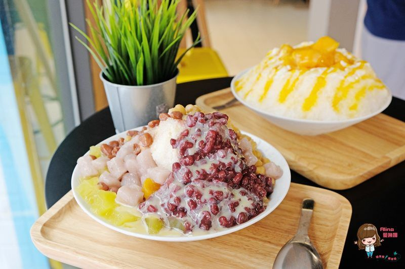 【食記】台北東湖 品晶冰吧 Pingo甜品專賣店 傳統刨冰 夏季限定芒果煉乳冰 @Alina 愛琳娜 嗑美食瘋旅遊