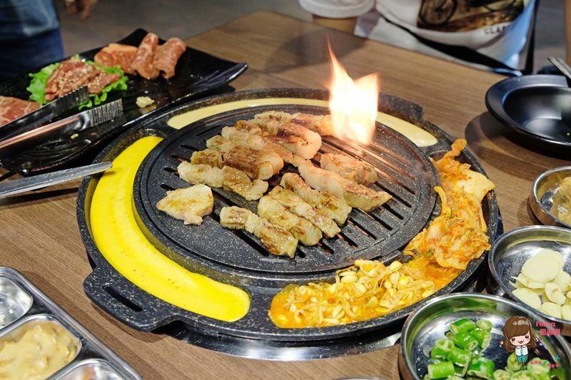【食記】台北市府 Woosan 韓式料理店 韓國烤肉套餐 部隊鍋配爐邊起司超搭 @Alina 愛琳娜 嗑美食瘋旅遊