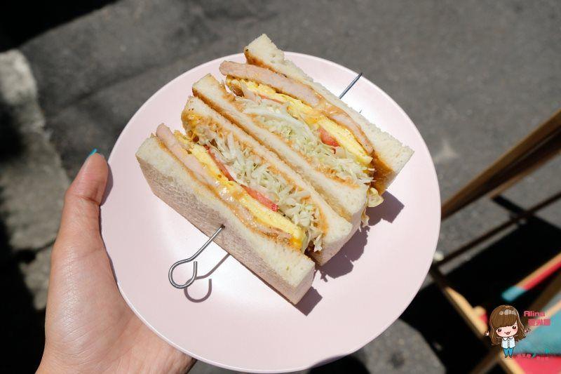 【食記】台北東區 福來早餐 Food Life 現烤肉排三明治 古早味紅茶鮮奶 @Alina 愛琳娜 嗑美食瘋旅遊