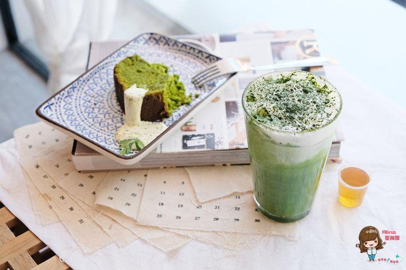 【食記】台北南港 L.coffee 我愛的韓風咖啡館 抹茶磅蛋糕香鬆好吃 @Alina 愛琳娜 嗑美食瘋旅遊