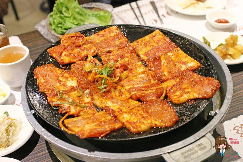 【食記】台北中山 南大門韓國烤肉 平價好吃的老牌韓式烤肉 最愛調味牛小排 @Alina 愛琳娜 嗑美食瘋旅遊