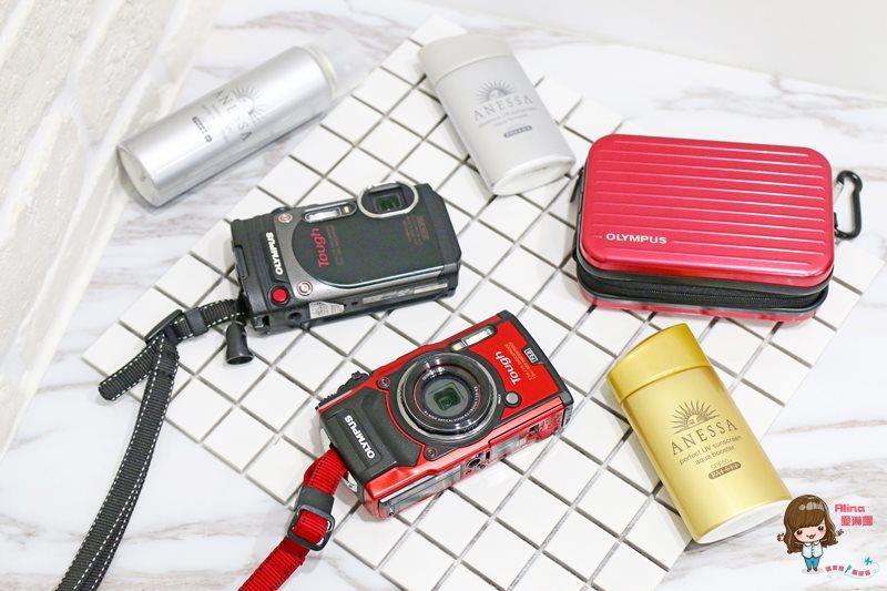 【數位3C】夏日玩水必備 OLYMPUS防水相機 TG-5大光圈 TG-870超廣角自拍 @Alina 愛琳娜 嗑美食瘋旅遊