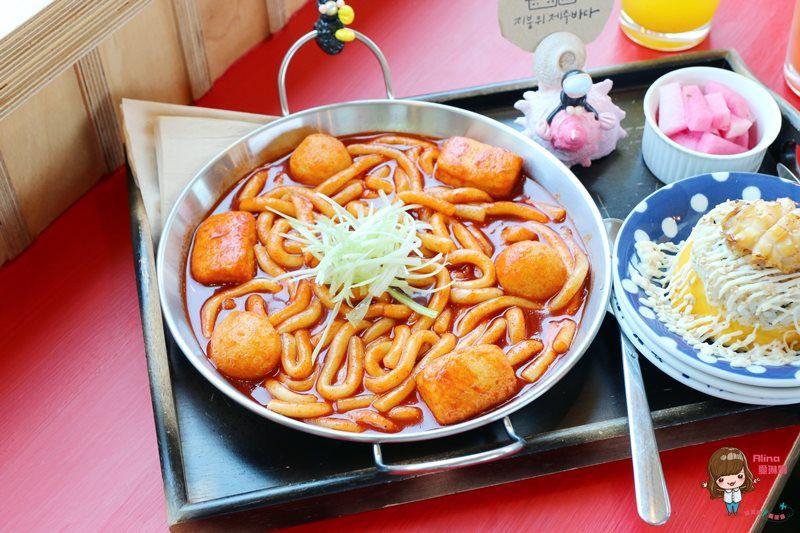 【濟州島自由行】 jejubada food 屋頂上的濟州大海 IG人氣美食 辣炒年糕 鮑魚蓋飯