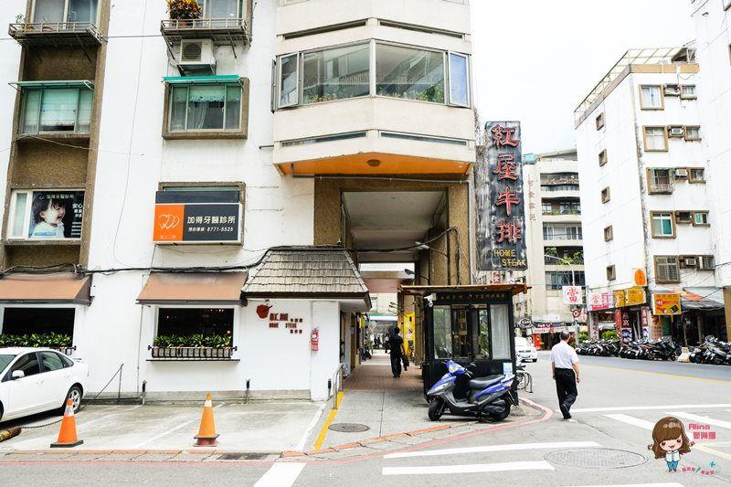 【食記】台北東區 紅屋牛排 忠孝店 商業午餐 現烤牛小排 干貝香彈