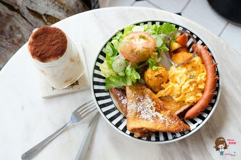 【食記】台北中山 公雞咖啡 Rooster cafe 女朋友的早餐 好吃的美式早午餐輕食 @Alina 愛琳娜 嗑美食瘋旅遊