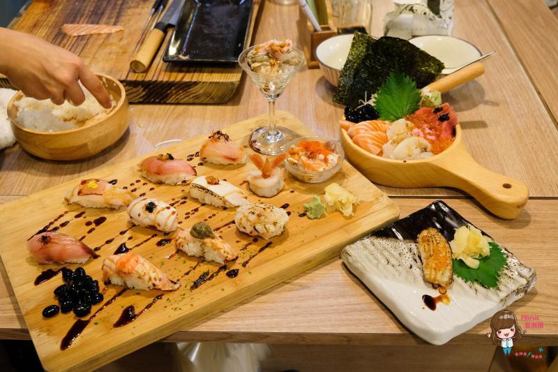 【食記】台北 華山合掌村-生魚片握壽司 市場內海鮮丼飯,炙燒比目魚 @Alina 愛琳娜 嗑美食瘋旅遊