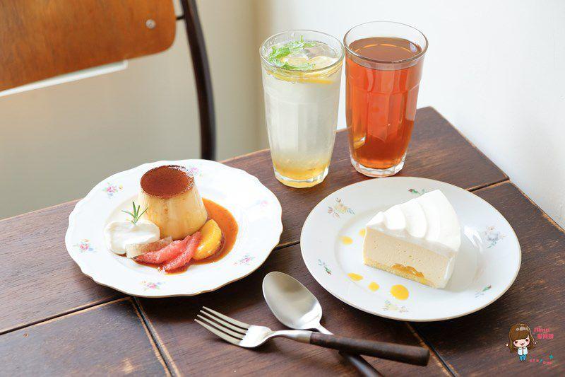 【食記】台北中山 彼儂甜點 Binome Dessert 鄉村風咖啡館 焦糖布丁好吃 @Alina 愛琳娜 嗑美食瘋旅遊