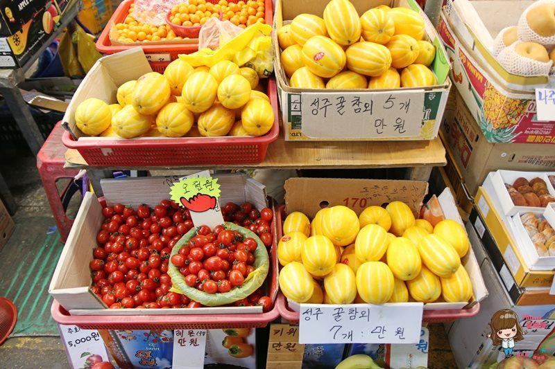 【濟州島自由行】濟州市 濟州民俗五日市場 不只好買還有好多美味的傳統小吃