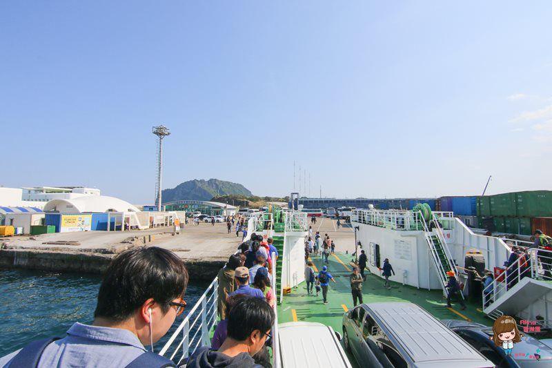 濟州島自由行 우도 牛島交通 怎麼去怎麼玩,觀光巴士路線+乘車搭船攻略