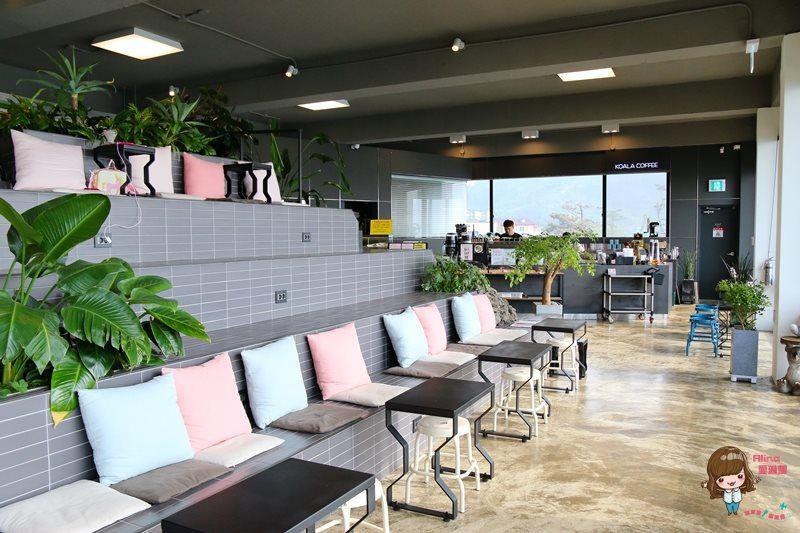 【濟州島自由行】涯月 KOALA COFFEE 無尾熊咖啡館 舒服坐看海景的慵懶叢林 @Alina 愛琳娜 嗑美食瘋旅遊