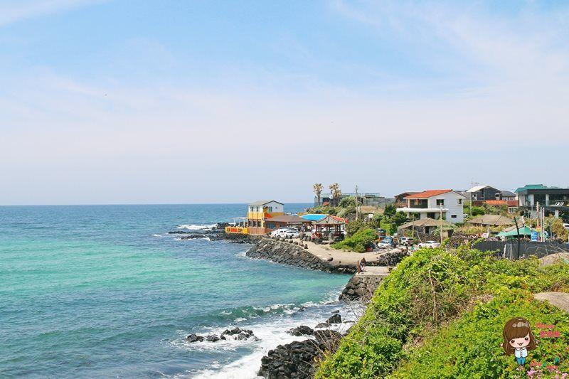 濟州島景點推薦 涯月翰潭海邊
