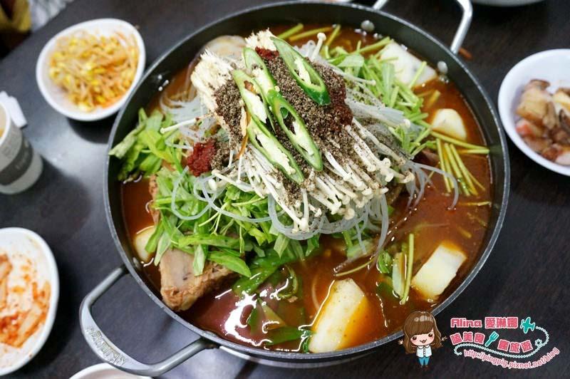 【食記】台北行天宮 東輝韓食館 吃完會讓我想念韓國的馬鈴薯排骨湯 @Alina 愛琳娜 嗑美食瘋旅遊