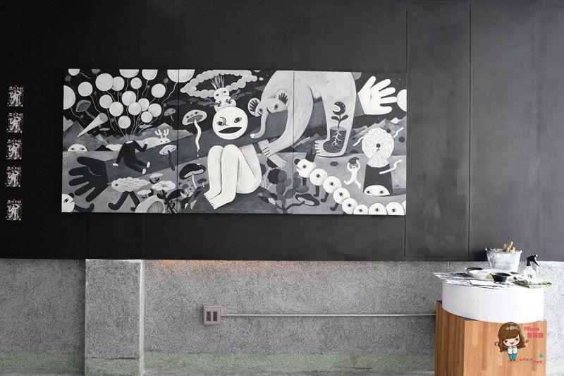 【食記】北車西門 鬧咖啡 NOW coffee 黑色幽默咖啡館 用餐不限時 輕食早午餐