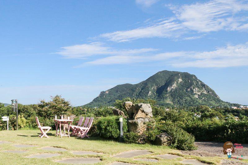 濟州島景點 山房山