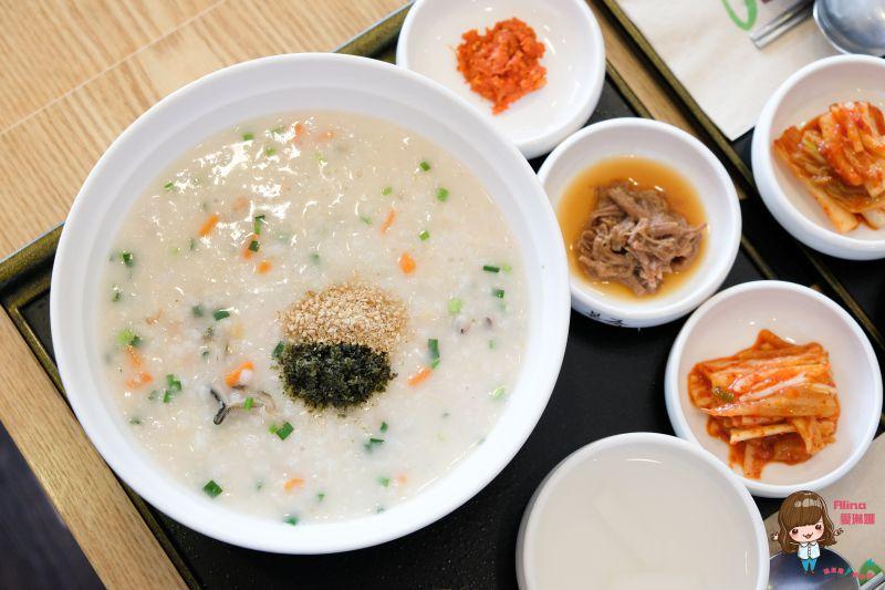 【首爾美食】弘大 本粥 美味韓國早餐:海鮮鮑魚牛肉粥 @Alina 愛琳娜 嗑美食瘋旅遊