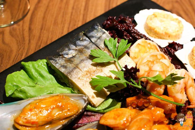 胡荽子醋醃鯖魚