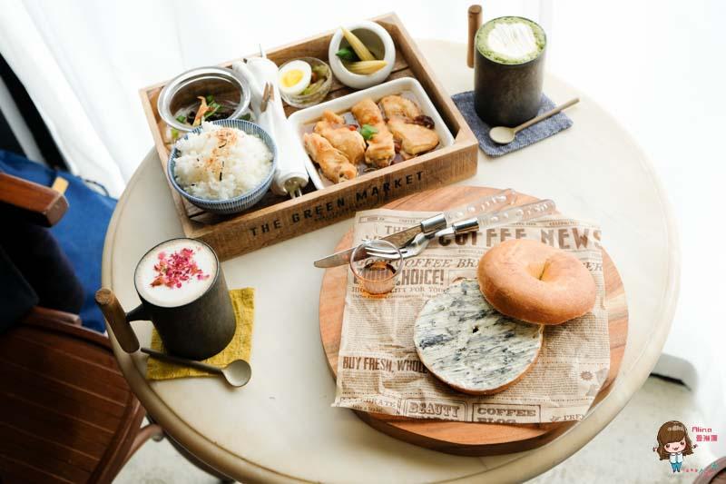 【食記】台北中山 時差Jetlag 文青咖啡館 美味雞腿飯 配上 大理石貝果的優雅 @Alina 愛琳娜 嗑美食瘋旅遊
