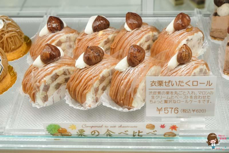 【東京必吃甜點】自由之丘 MONT-BLANC 蒙布朗 栗子蛋糕創始店 香濃可口 @Alina 愛琳娜 嗑美食瘋旅遊