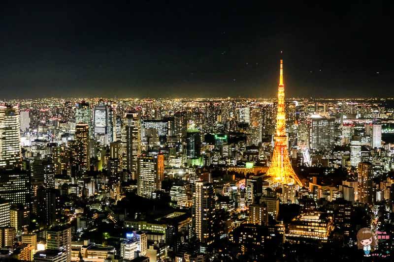 【東京必看美景】六本木之丘 Tokyo City View 森大樓52F 東京鐵塔繁華夜景 @Alina 愛琳娜 嗑美食瘋旅遊