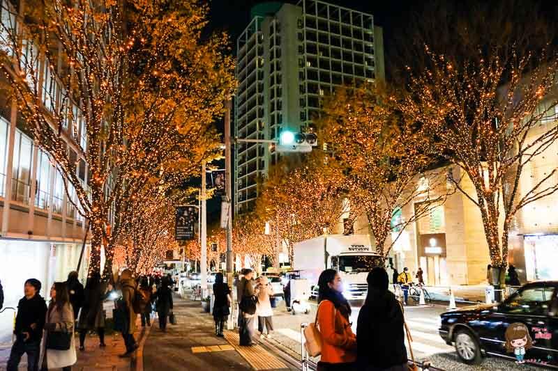東京聖誕節 六本木
