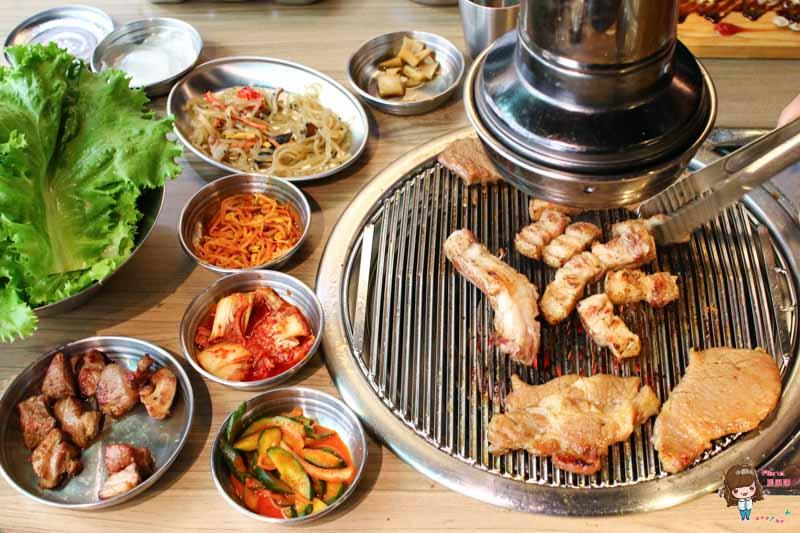 【食記】台北東區 台韓民國韓式烤肉:最愛調味豬 秘醬牛肋條 西瓜燒酒不能錯過 @Alina 愛琳娜 嗑美食瘋旅遊