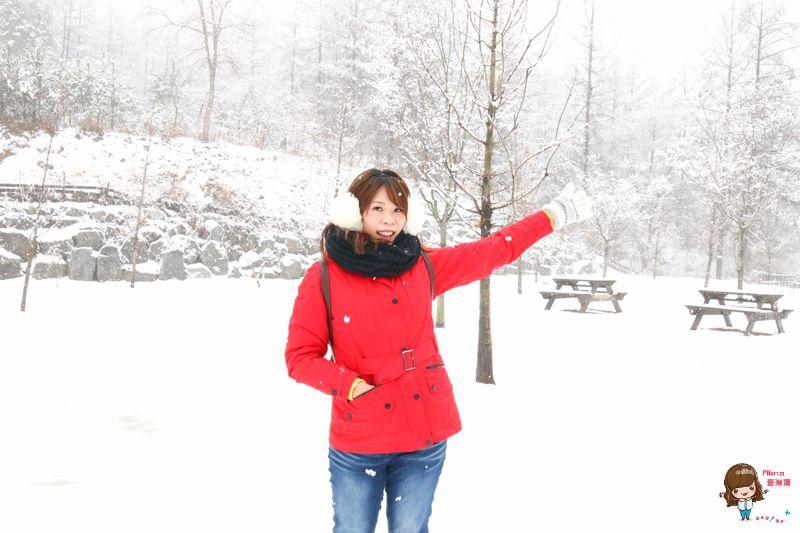 【冬季旅遊穿搭】韓國冬天怎麼穿 GORE-TEX 二合一羽絨外套 持久防水 透氣防風 @Alina 愛琳娜 嗑美食瘋旅遊