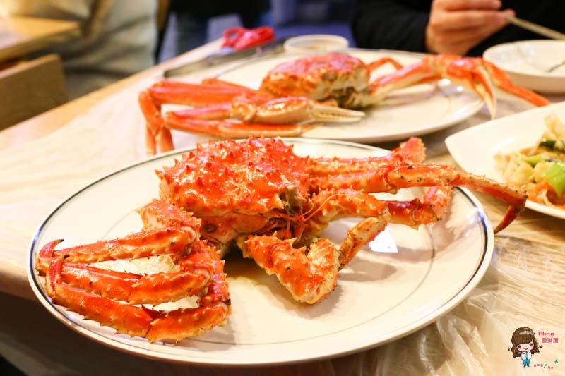 【韓國首爾必吃美食】鷺梁津水產市場-長腳蟹帝王蟹 海鮮料理食堂 挑選比價心得 @Alina 愛琳娜 嗑美食瘋旅遊