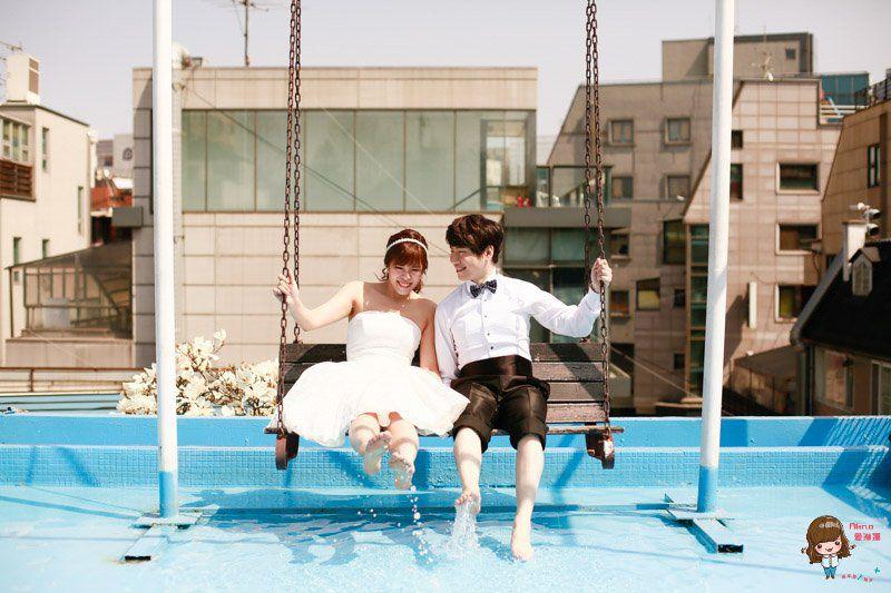 【浪漫結婚紀念】我們的韓國婚紗-輕鬆可愛風格讓人眼睛一亮 成品照大公開! @Alina 愛琳娜 嗑美食瘋旅遊