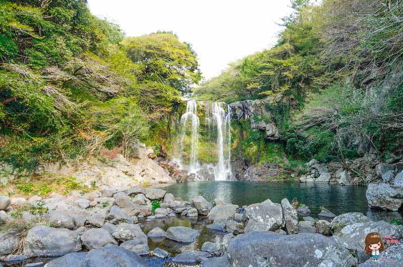 濟州島景點 天帝淵瀑布