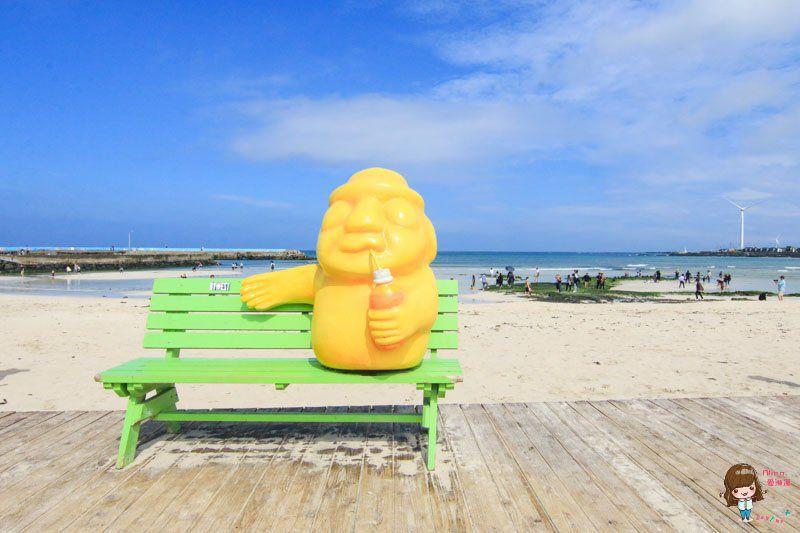 濟州島景點推薦 月汀里海水浴場