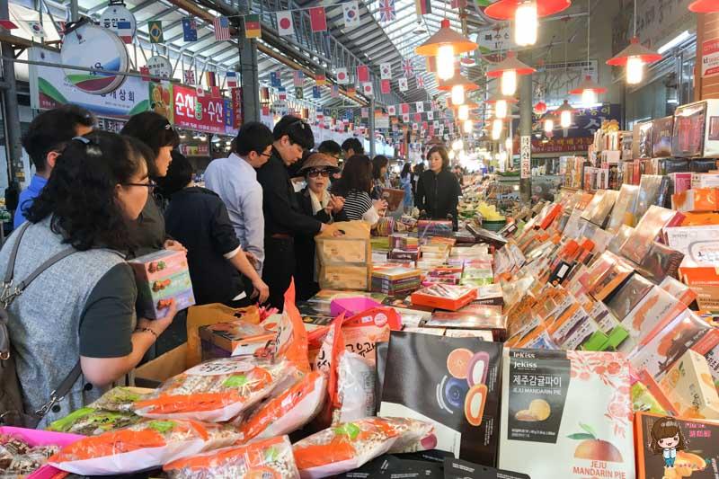 濟州島景點 東門市場
