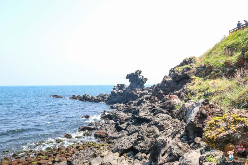 濟州島景點 濟州龍頭岩海岸