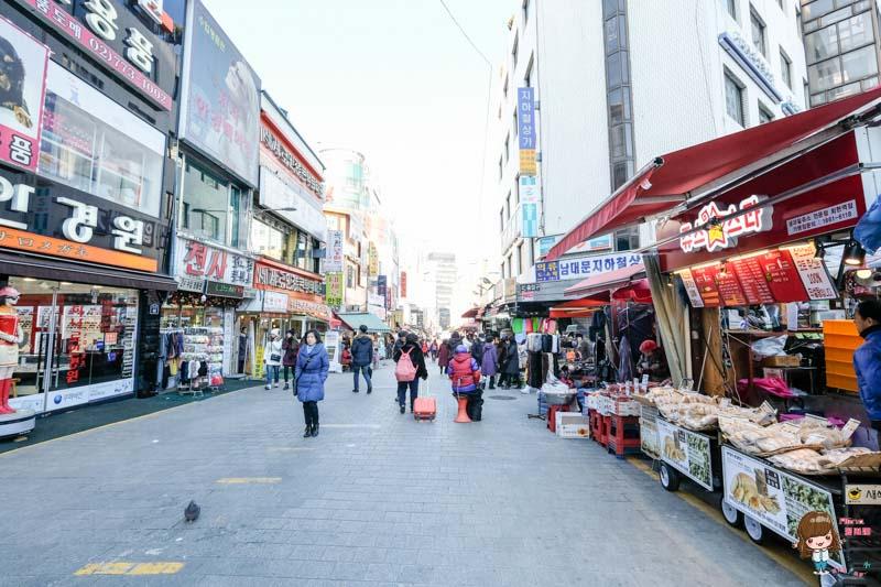 首爾景點 南大門市場