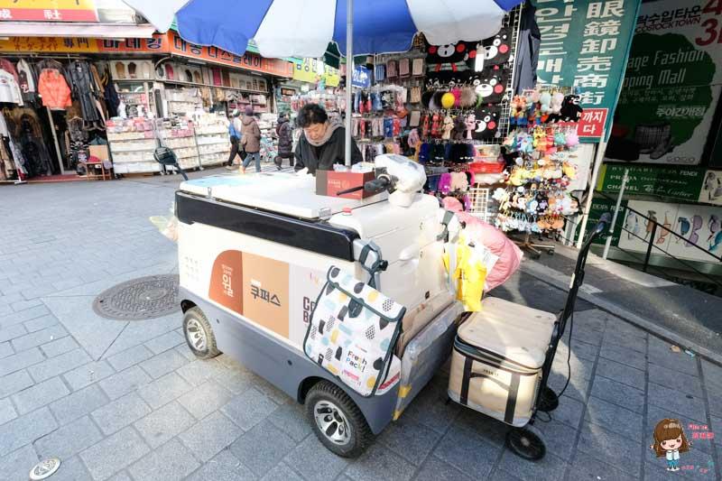 韓國養樂多餐車