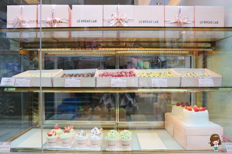 【釜山自由行】LE BREAD LAB 夢幻粉紅咖啡館 韓國人氣草莓奶油捲(附首爾分店資訊)