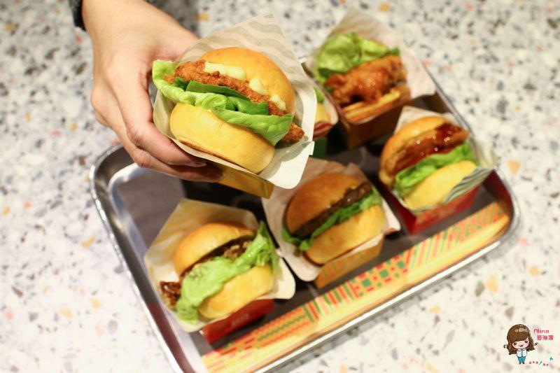 【食記】台北內湖 FRESHBITE 迷你小漢堡 美式漢堡新吃法 一次滿足多種口味 @Alina 愛琳娜 嗑美食瘋旅遊