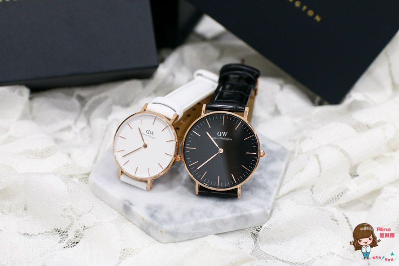 【DW情侶對錶】手錶 85折扣優惠碼-戀愛13 V.S. 結婚6年紀念 浪漫黑白典雅