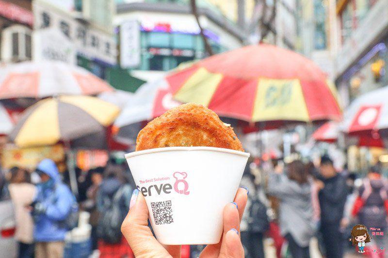 釜山BIFF廣場 堅果黑糖餅
