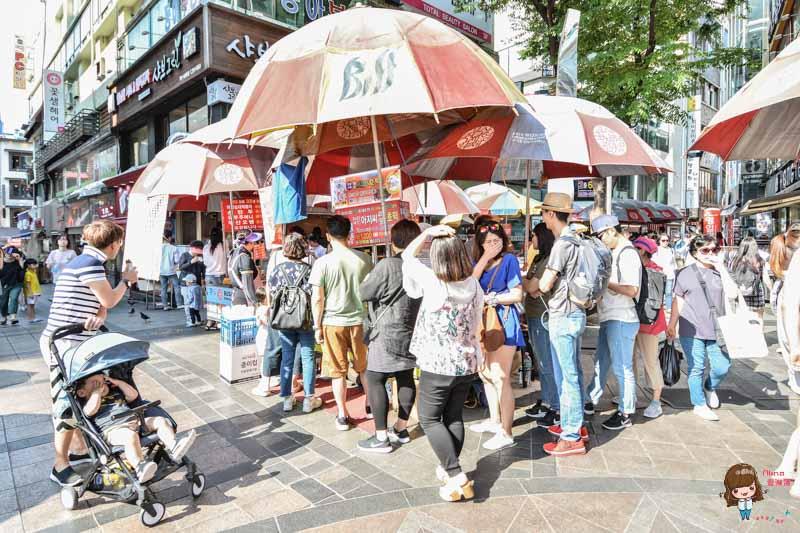 釜山BIFF廣場小吃
