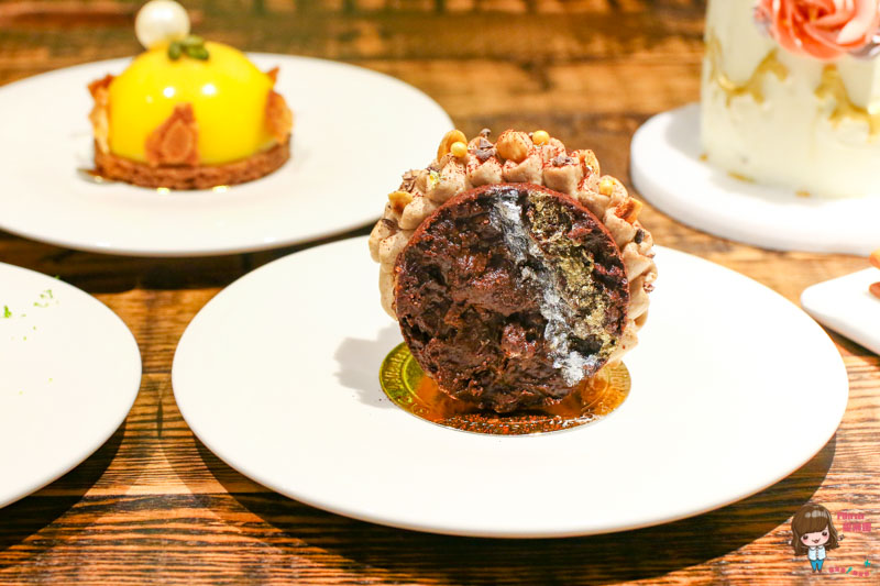 台北松山 就是蝴蝶 法式歐陸料理餐廳-法式甜點的華麗可口