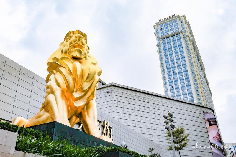 【澳門住宿推薦】美獅美高梅 MGM COTAI-澳門5星級酒店,華麗珠寶盒外觀