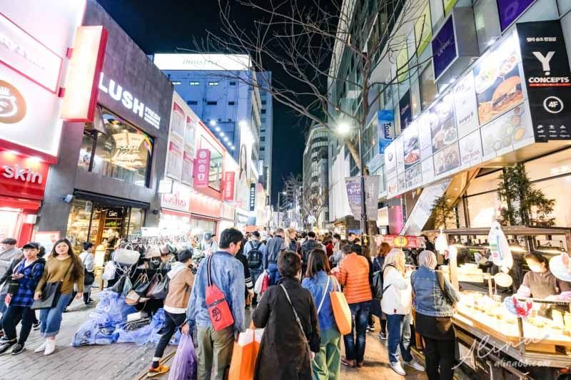 明洞購物商圈