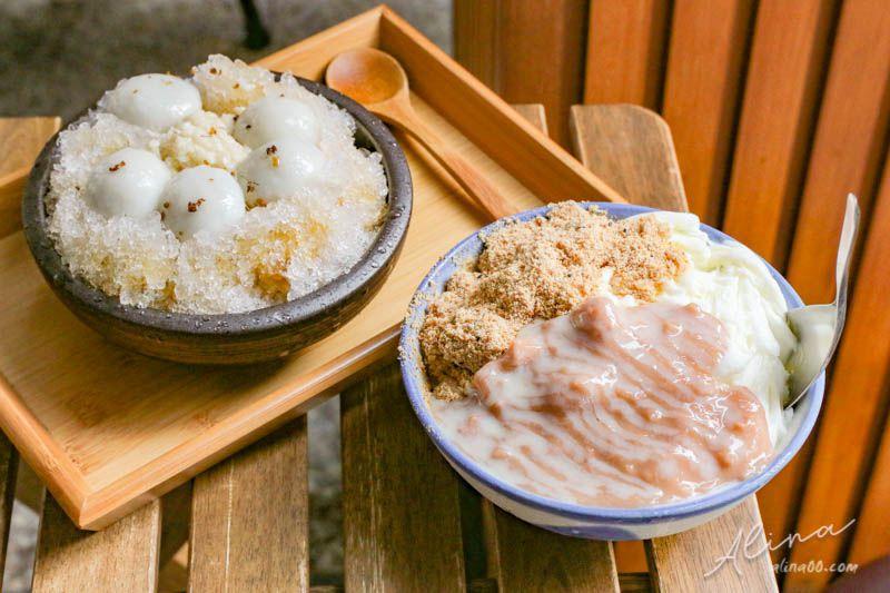 【食記】台北西門 來呷甜甜品 燒麻糬雪花冰店,香棉芋頭Q彈湯圓冰 @Alina 愛琳娜 嗑美食瘋旅遊
