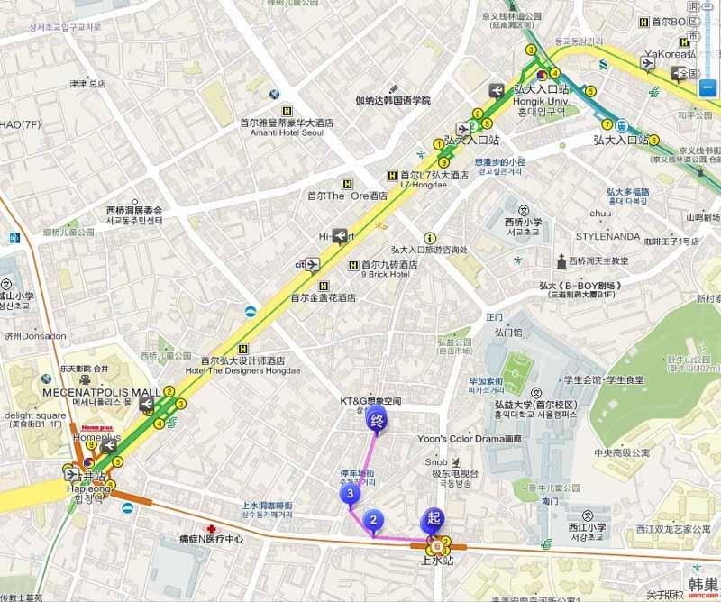昭福交通地圖