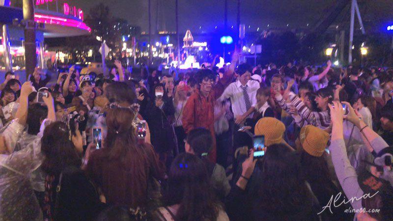 環球驚喜萬聖節 殭屍群舞