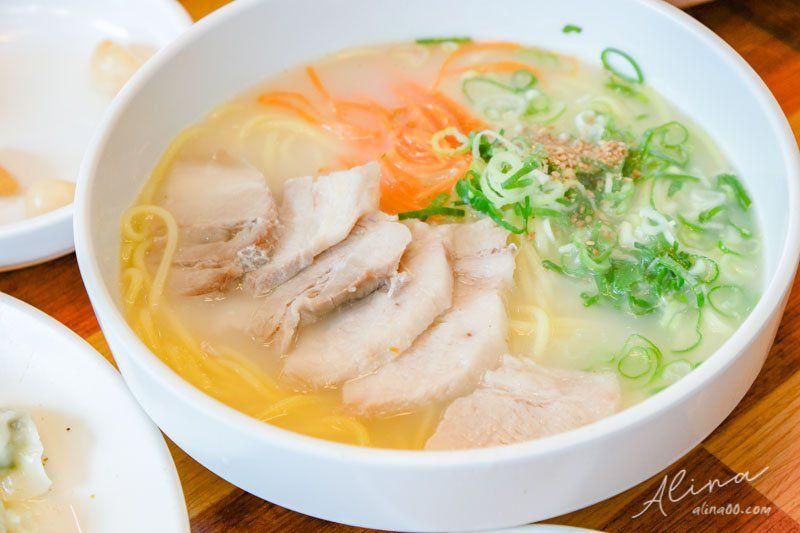 【濟州島美食】濟州 三代麵條會館-在地人愛吃豬肉湯麵配餃子 @Alina 愛琳娜 嗑美食瘋旅遊